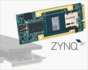 Smallest mezzanine module features a Zynq® MPSoC FPGA