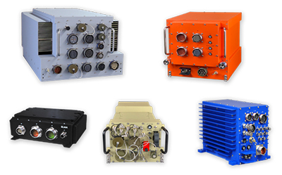 Highly Rugged, Reliable Field-Deployable Enclosures with Innovative I/O & SWaP