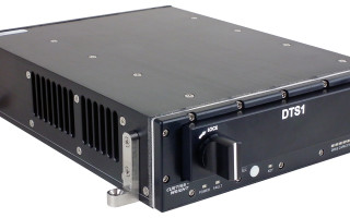 [Figure 1 | The single-slot NAS secure small-form-factor DTS1 is intended to store and protect large amounts of classified data on helicopters and unmanned air and ground vehicles. Curtiss-Wright Defense Solutions photo.]
