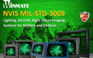 NVIS MIL-STD-3009 Compatible Screen Now is Available on Winmate's Military-Grade Products