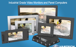 New Rugged Display Solutions - DiamondVue Series 4 from VarTech Systems Inc.