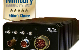 Delta Digital Video Receives Editor's Choice Award from Military Embedded Systems for Multi-platform Rugged Video Encoder