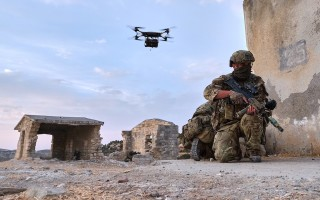 Autonomous technology supplements Royal Marines in training exercise