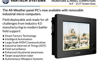 All-Weather Panel PCs NOW available with Removable industrial-grade computers