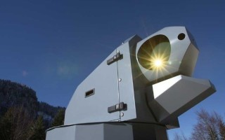 Laser weapon system component in development for the Bundeswehr