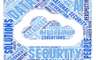Word cloud generated from event transcript/U.S. Dept. of Homeland Security