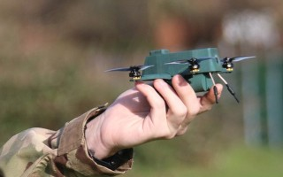 """Nano """"Bug"""" UAV tested by BAE Systems and the British Army"""