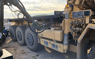 Autonomous ground vehicle contract aims to change military-convoy refueling operations