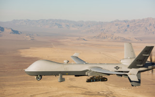 MQ-9 Reaper: U.S. Air Force photo by Airman 1st Class William Rio Rosado