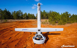 Martin UAV photo.