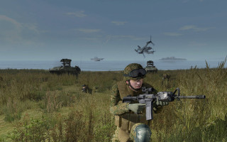 Multiplayer virtual training platform for military applications