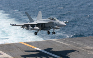 First EA-18G Growler electronic attack fighter delivered to Navy under multi-year contract