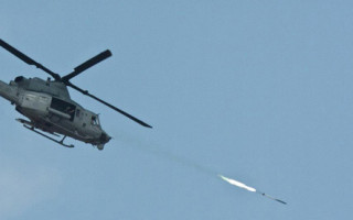 Laser-guided 2.75-inch rocket completes live fire testing by Marine helicopter aviators