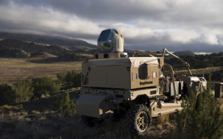 USAF demo shows Raytheon's directed energy system engage multiple UASs