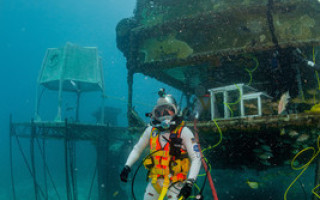 Astronauts may take information systems from seabed to space