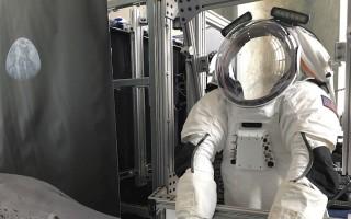 Space-suit update prototype shows enhanced sensors, electronics, avionics