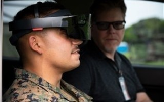 AR technology to increase warfighter RF safety