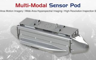 Multi-modal sensor pod for ISR on aircraft unveiled by Logos Technologies at AUSA 2019