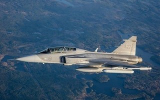Electronic Attack Jammer Pod by Saab takes flight