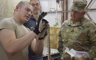 Neutron radiography to simplify Army munitions inspection