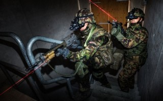VarioRay LLM laser light modules supplied to Swiss Army