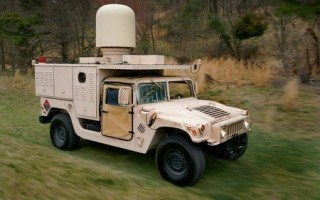 UAS versus AESA radar test performed using on-the-move military system