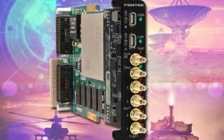 Pentek's Four-channel, 1.25 GHz D/A Jade Architecture XMC Ideal for Waveform Generation