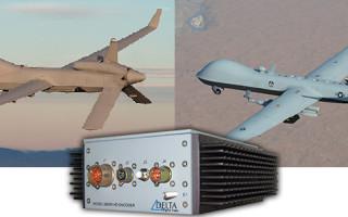 Delta Digital Video's Rugged Encoders Support  General Atomics' UAV