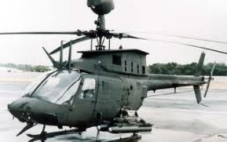 Image of the predecessor Bell OH-58D helicopter