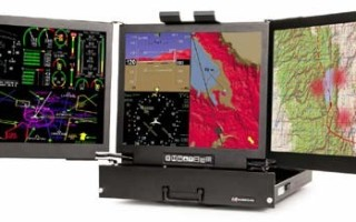 Three rugged displays in one chassis for extreme environments