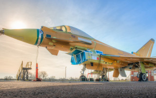 Trance 3 Typhoon fighter enters electromagnetic testing