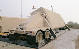 AN/TPY-2 radar from Raytheon delivered to Missile Defense Agency