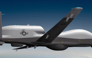 U.S. Navy MQ-4C Triton UAS completes maiden flight