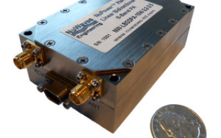 NuWaves Power Amplifier extends range of advanced communication systems