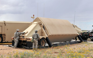 AN/TPY-2 BMD radar's Antenna Equipment Unit completed by Raytheon