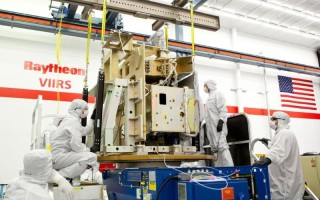 Integration for JPSS-1's Visible Infrared Imaging Radiometer suite completed by Raytheon