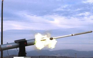 Rocket-based weapon system demonstrated for small ship protection