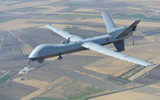 Italian air force MQ-9/ Photo courtesy of General Atomics Aeronautical Systems, Inc.