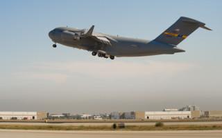 C-17 Globemaster III. Photo courtesy of Boeing.