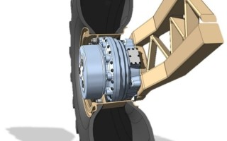 Hub-drive design and development contract will improve mobility and survivability