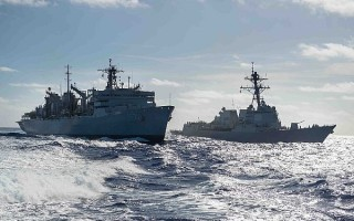 Multi-function military mission completed for Naval Integrated Topside program