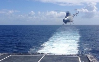 U.S. Navy deploys MQ-8B Fire Scout with new radar to assist in flight operations