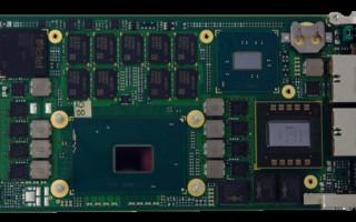AdvancedMC module supports latest Intel Xeon processor