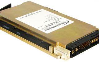 400-watt DC/DC converter plugs into standard 3U VPX chassis