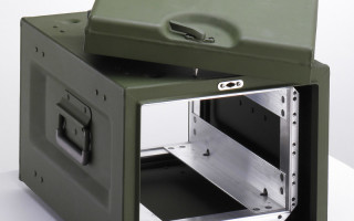 Rackmount cases for protection of 19-inch electronics