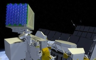 Artist concept of payload attached to International Space Station: Courtesy NASA.