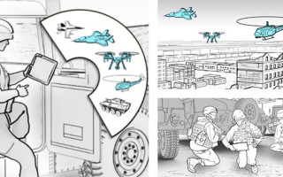 Graphical depiction of PROTEUS -- courtesy DARPA.