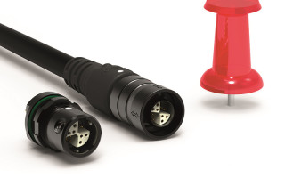 Miniature connectors with IP68 rating for body-worn applications