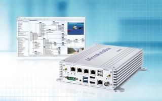 Amp for low-level sensor telemetry data in communication satellites