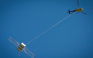 ESA tests radar antenna intended for use on future JUICE mission. Photo courtesy ESA